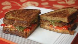 Tempeh Double-Decker Sandwich