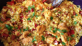 Chicken Chili, Brunswick Stew and Jambalaya