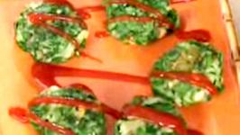 Indian Spinach Tikkas