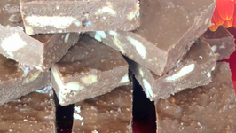 Crunchy Dark Chocolate Slice