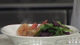 Blue Lantern Lounge Shrimp With Panchetta And Fig Salad
