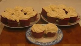 Red Cup Cakes With Wonderful Frosting - Part 2  Preparation