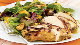 Wegmans Grilled Jamaican Jerk Chicken Breast and Mango and Cashew Salad