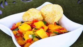 Mango Salsa - Mexican Dip