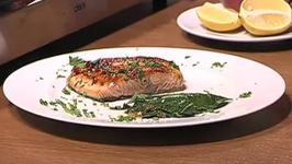 Crispy Sweet Salmon