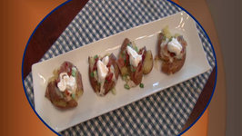 Betty's Loaded Smashed Potatoes- Appetizer