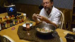 Korean Mandu With Gamja Salad