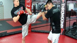 MMA Tips - How to Block a High Kick with Cung Le