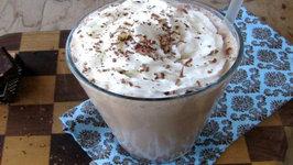 Peppermint Mocha Milkshake Cocktail