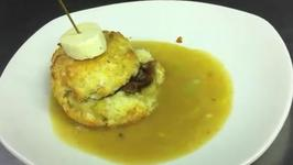 Besse's Biscuits and Chanterelle Mushroom Gravy