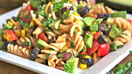 Taco Pasta Salad  - Light & Delicious