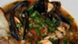 San Francisco Cioppino - A Spicy Fish Stew