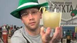 Saint Patrick's Day Cocktail: Dancing Leprechaun