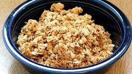Garlic-Parsley Butter and Homemade Granola