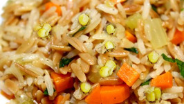 Corn And Carrot Pilaf