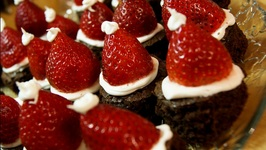 Angels' Brownies with Fruit