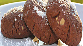 Chocolate Peanut Butter Cookies - Part 1