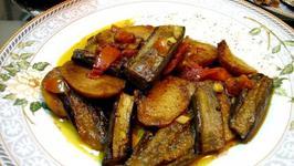 Brinjal with Spicy Gravy