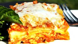 Roasted Vegetable Lasagna     Homemade Marinara Sauce