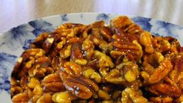 Glazed Spiced Nuts