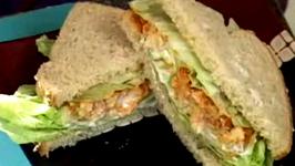 Tofu Tikka Sandwich