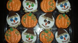 Pumpkin Fall Cupcake Ideas for Kids
