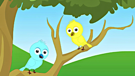 Two Little Dicky Birds - Animation English Nursery Rhymes for Children