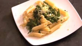 Spinach and Peas Pasta