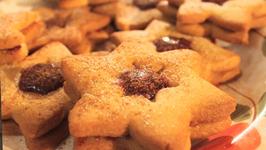 Festive Filled Honey Stars