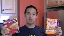 Hot Pockets vs Tony's Pouches! (Ep592)