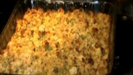 Thanksgiving Ideas: Herb Butter Roasted Bone-In Turkey Breast & Cornbread Dressing Part 2