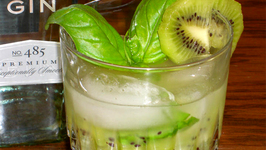 Kiwi Basil Cocktail