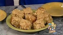 Gooey Caramel Apple Brownies