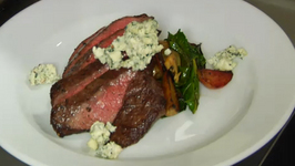 SIDECAR Skirt Steak With Roasted Beets and Blue Cheese