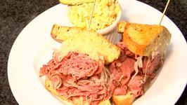 Hawaiian Grown Kitchen - Pastrami Reuben Sandwich with Mac Salad- Segment 1
