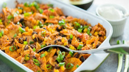 Tex Mex Chicken Casserole- Quick & Easy Dinner