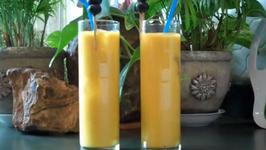 Rum Coconut Mango Cocktail