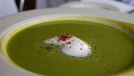 Spring Green Asparagus Soup