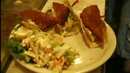 Sage Salmon with Caesar Salad