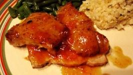 Pork Loin with Tangerine Sauce