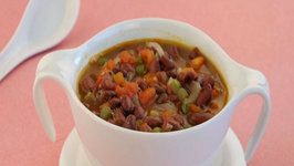 Bean and Tomato Soup (Low Cholesterol) by Tarla Dalal