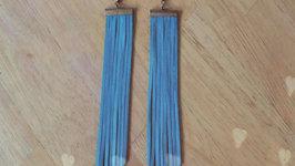 DIY : Boho Fringe Earrings