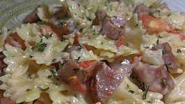 Low Fat Creamy Pasta Skillet Meal
