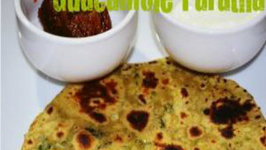 Guacamole Paratha - Indo- Mexican
