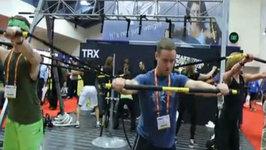 TRX Rip Trainer - Jon Ham at IHRSA 2011