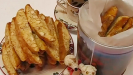 Betty's Almond Biscotti--Perfect Christmas Gift!