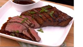 Coffee Molasses Tri-tip