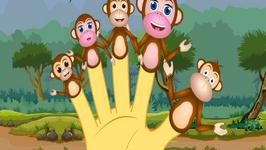 The Finger Family Monkey's Family Nursery Rhyme