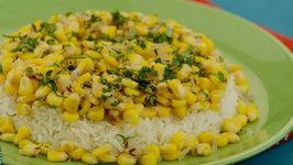 Corn Pulao by Tarla Dalal