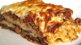 Hearty Sausage Lasagne